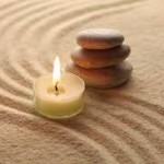 Therapeutic candles and stones