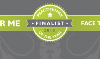 I've been nominated for Face The World Practitioner of the Year Award 2015 – please vote for me!