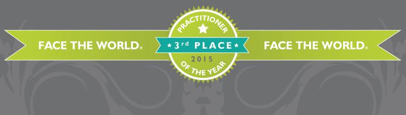 Beauty Practitioner of the year 3rd place award
