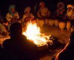 Ritual bonfire